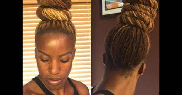 Marvelous 10 Stunning Updo Styles For Your Locs Short Hairstyles Gunalazisus