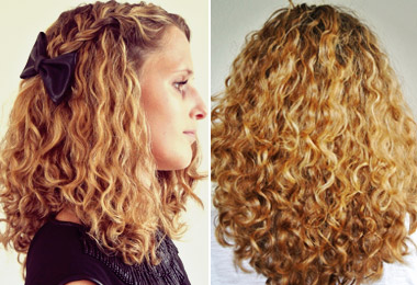 Hairstyle Routine : Curly Hair Routine for Gorgeous Type 3a Curls