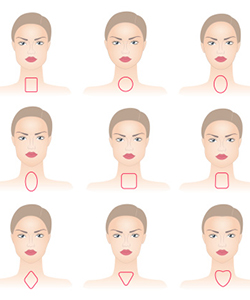 Find the Most Flattering Part for Your Face Shape