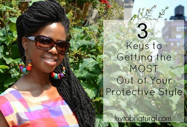 Don't Skip These 4 Protective Styling Steps