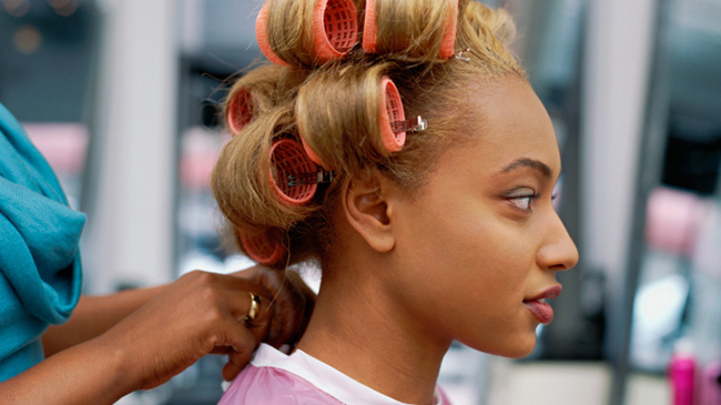 Peachy Get Your Most Perfect Roller Set Short Hairstyles Gunalazisus