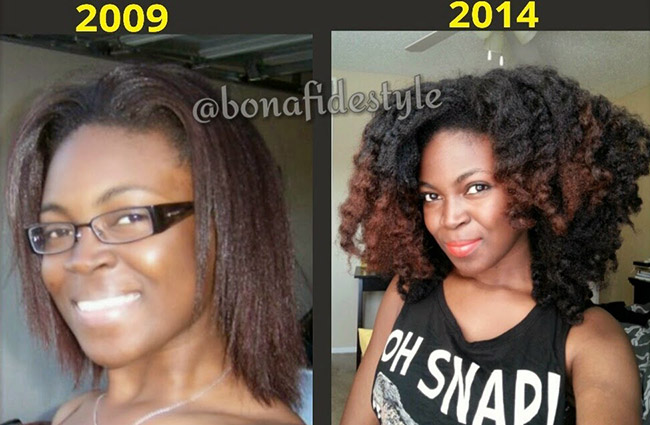 4 Years Of Natural Hair Growth