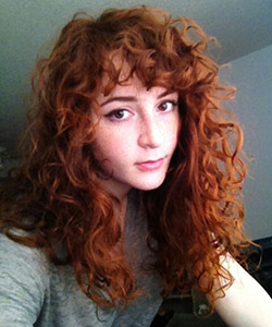 Stop Saying You Can't Have Bangs with Curly Hair