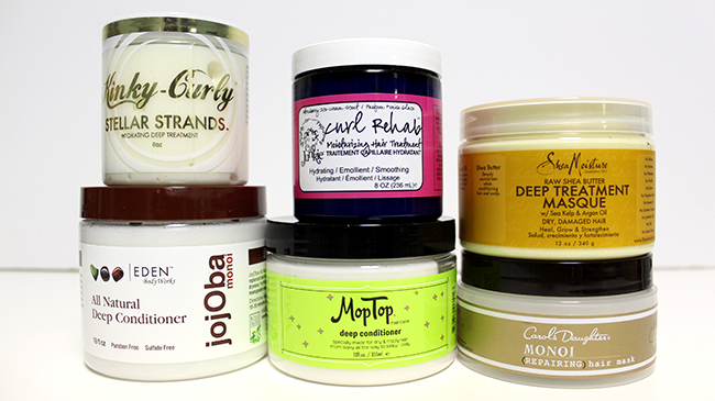 Deep conditioners for hair