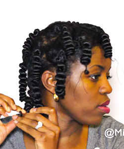 African Threading: The Heatless Stretching Method