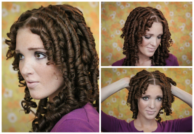 How To Get Perfect Bouncy Ringlet Curls With Fine Hair