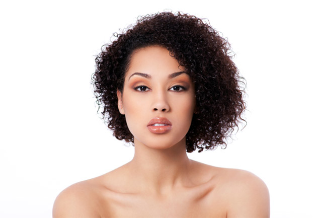 Cool Best Curly Hair Styles For Round Faces Hairstyles For Women Draintrainus