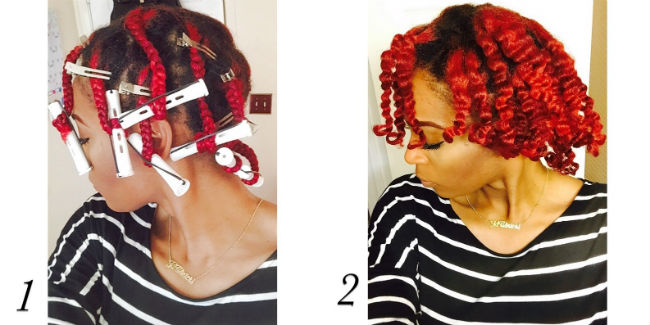 steps to a perfect braidout