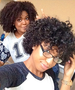 Mini Marley Shows Us How to Fake a Fro While Transitioning