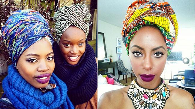 hair scarf style