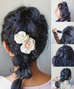 How to Fake a Gorgeous Braid for Prom