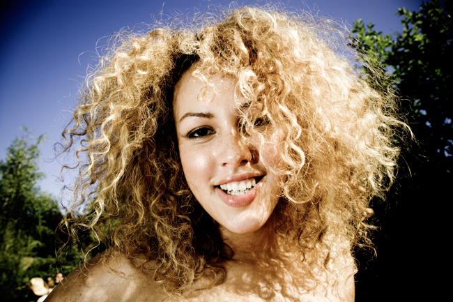 how to fix your damaged curly hair