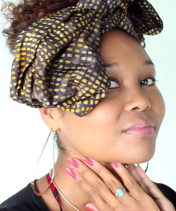 WATCH: 3 Ways To Wear A Headwrap