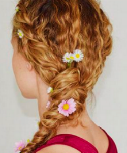 The Perfect Festival Hairstyle For Curly Hair