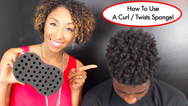 This Weird Sponge Will Twist Your Hair For You