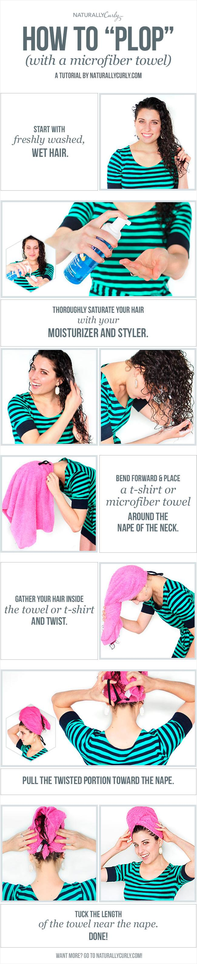 The Curly Girl S Guide To Plopping Your Hair