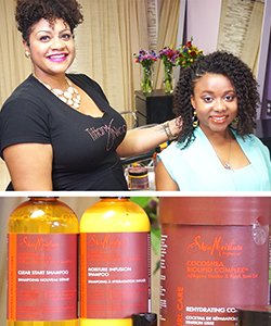 3 Makeovers with SheaMoisture Professional