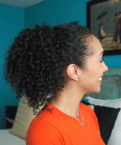 How to Create the Perfect Curly Ponytail