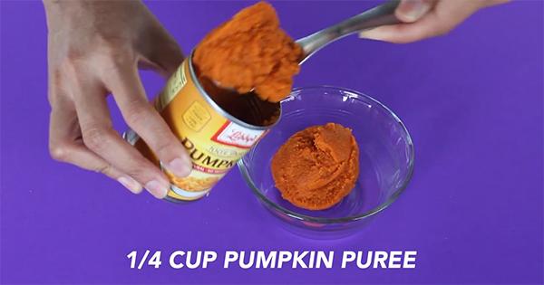 Pumpkin Spice Homemade Hair Mask