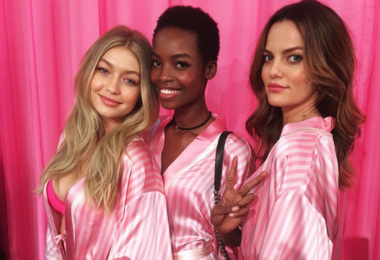 This Model's Hair Upstaged Kendall and Gigi At The Victoria's Secret Fashion Show