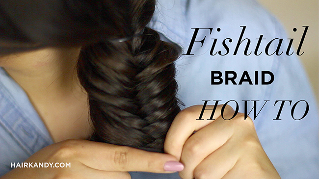 fishtail braid how to