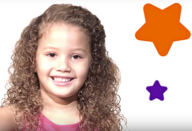 Quick 3-Minute Hairstyle for Curly Kids