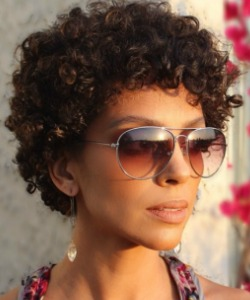 How to Fake an Afro for a Day