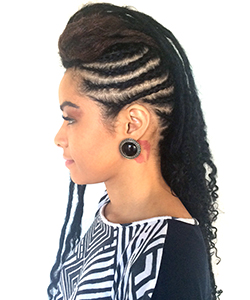 We Tried Khinky Faux Locs, This is What They Looked Like