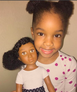 The Angelica Doll: Truer Representation For Little Curly Girls