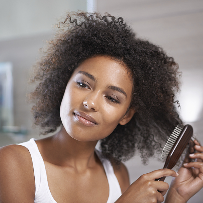 Should You Brush Naturally Curly Hair