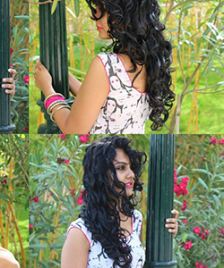 What It's Like to Have Curly Hair in India