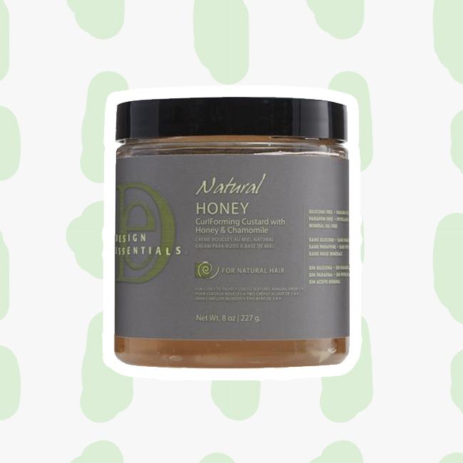 Design Essentials Natural Honey CurlForming Custard curly girl method