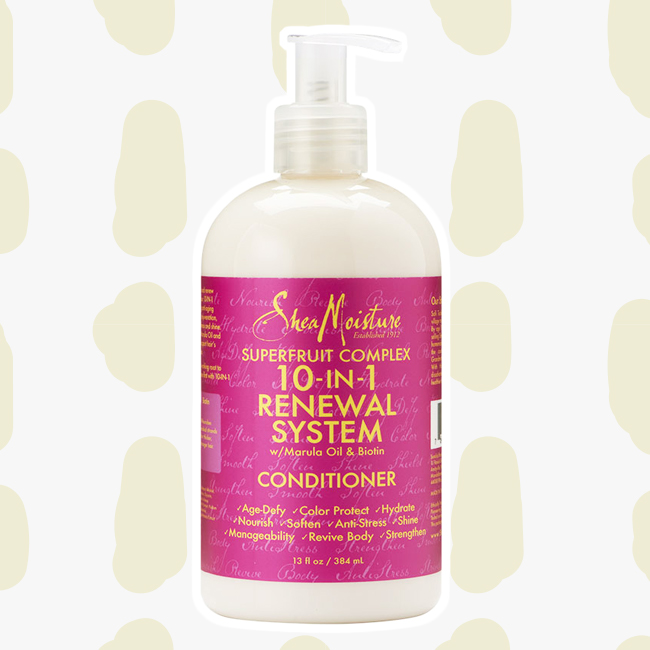 SheaMoisture SuperFruit Complex 10-In-1 Renewal System Conditioner curly girl method