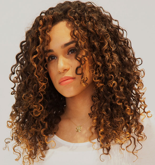 hairstyle women curly-#29