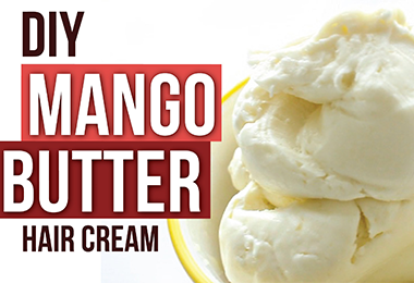 Naptural85 Has a New DIY Hair Mango Butter