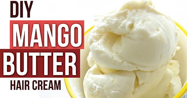 Naptural85 Has A New Diy Hair Mango Butter