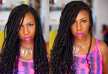 Protect Your Crown With Goddess Locs This Fall