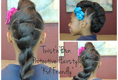 5 Kid-Friendly Protective Hairstyles with Extensions
