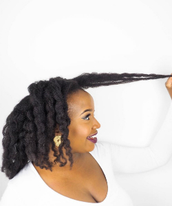 How to Detangle 4C Hair