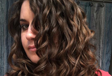 "How I Avoid The ""Wet Gelled Down"" Look On My Wavy-Curly Hair"